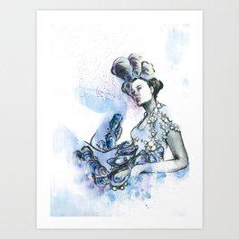 Aphrodisiac Fashion Art Print