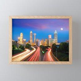 Atlanta 02 - USA Framed Mini Art Print