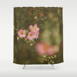flower photography by Elina Bernpaintner Shower Curtain