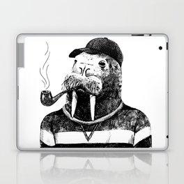 Walrus with a Pipe Laptop & iPad Skin