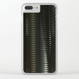 Worm. Fashion Textures Clear iPhone Case