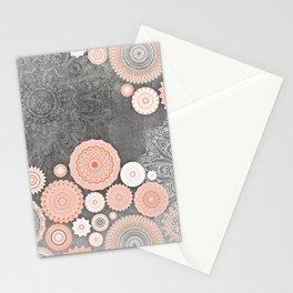 FESTIVAL FLOW BLUSH SUNSHINE Stationery Cards
