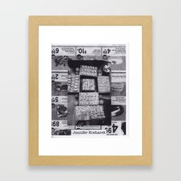 Page out of the 24 hour Zine Framed Art Print