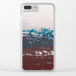 Wyoming Rule of Thirds Clear iPhone Case