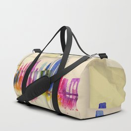 Color New York Skyline 01 Duffle Bag
