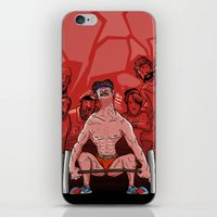 train iPhone & iPod Skins featuring Train by Lee Grace Design and Illustration