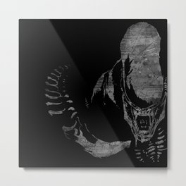 Monster from the Space Metal Print