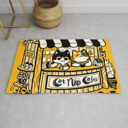 Cat Nap Cafe Rug