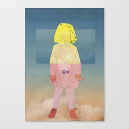 Sky girl  Canvas Print