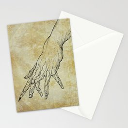 The Sixth Finger of the Writer Stationery Cards