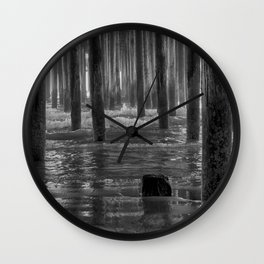 Pismo Beach Pier Wall Clock