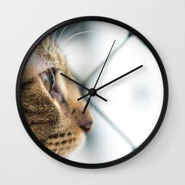 Cat Tax Wall Clock