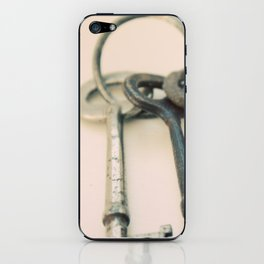 Skeleton Keys iPhone Skin