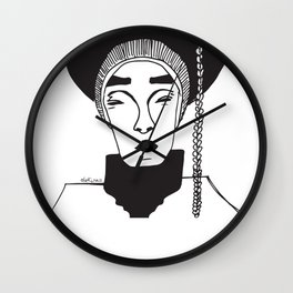 lost kingdom Wall Clock