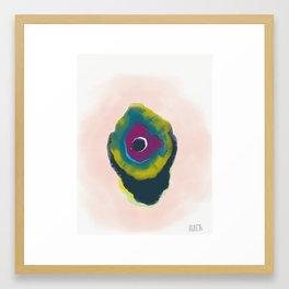 Watercolour Vision Framed Art Print