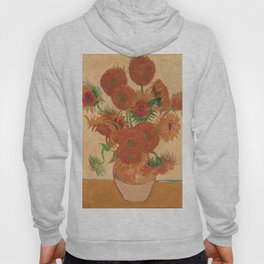 Still Life: Vase with Fourteen Sunflowers by Vincent van Gogh Hoody