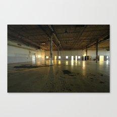 Factory Floor Canvas Print