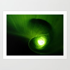 Tunnel of Light Art Print