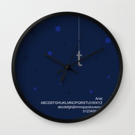 HOOK - FontLove Wall Clock
