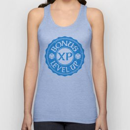 d20 Bonus XP Level Up Unisex Tank Top