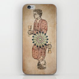 Arabesque Deck of Cards Jack Diamonds iPhone Skin