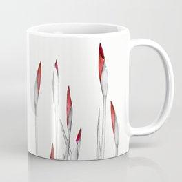 Red and White Spring Coffee Mug