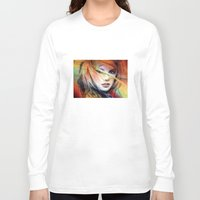 britney spears Long Sleeve T-shirts featuring  britney spears  by mark ashkenazi