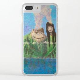 I Lava You Clear iPhone Case