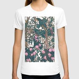 Walter Crane's Macaws and Fruit T-shirt