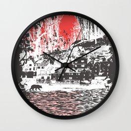 Cosmic Winter - Dark Wall Clock