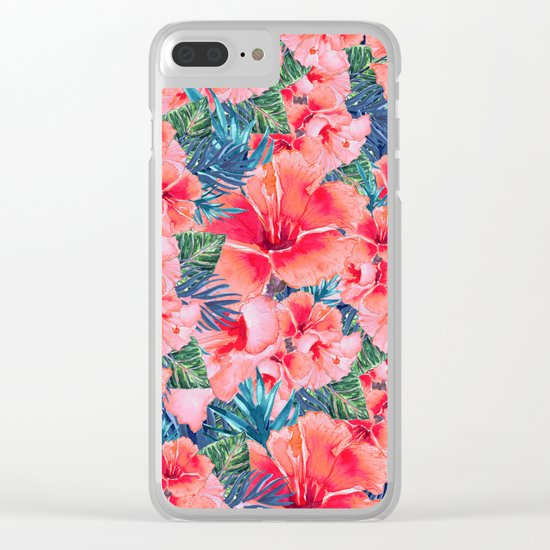 My Tropical Garden 12 Clear iPhone Case