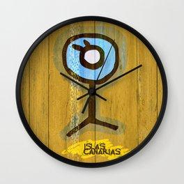 Simbologia Tribal 10 / Canary Islands Wall Clock