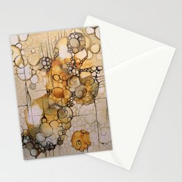 Yellow # 9 Stationery Cards