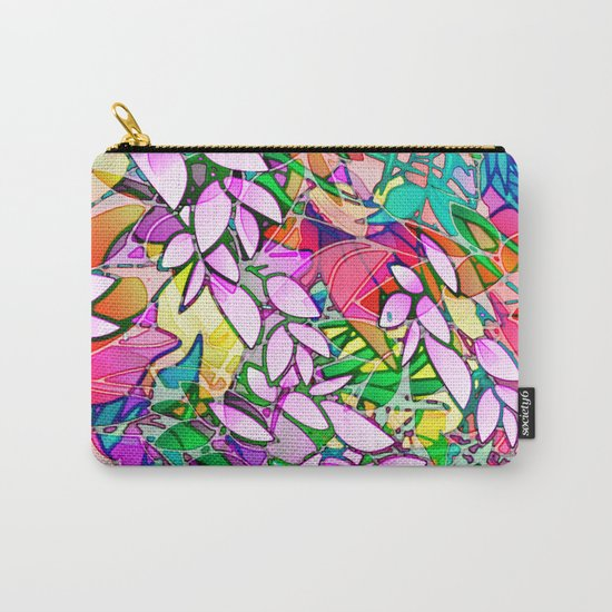 Grunge Art Floral Abstract G130 Carry-All Pouch