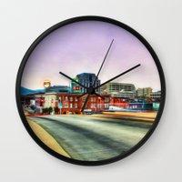 virginia Wall Clocks featuring Roanoke Virginia by ThePhotoGuyDarren