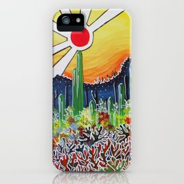 Nature's City iPhone Case
