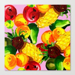 Fruitbowl loco Canvas Print