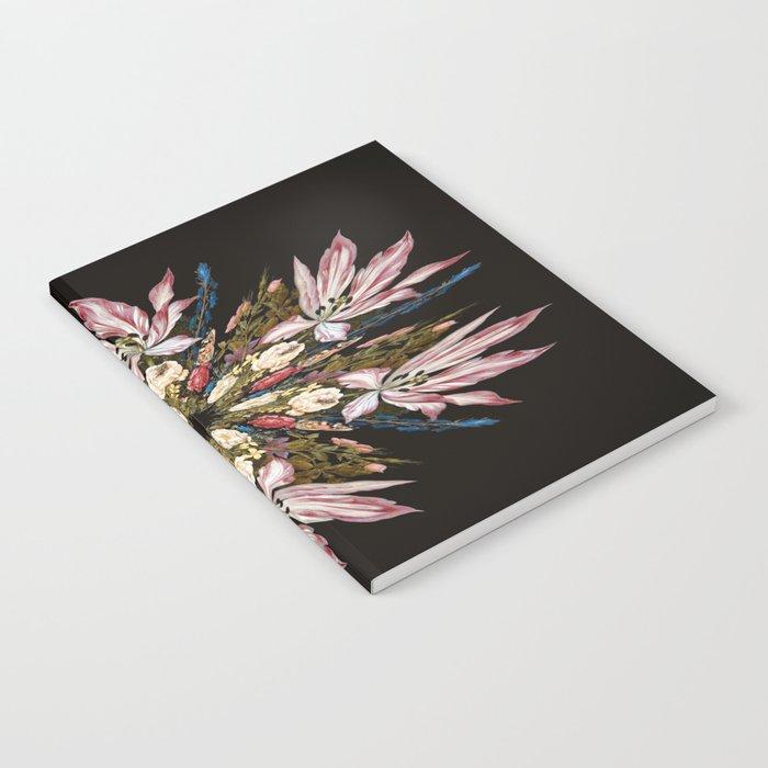 Flemish Floral Mandala Notebook