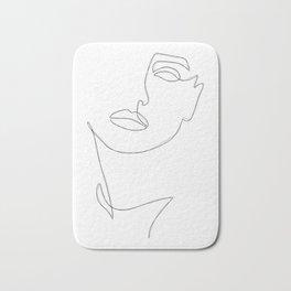 Triple Face Line Bath Mat