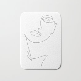 Triple Face Line Bath Mat