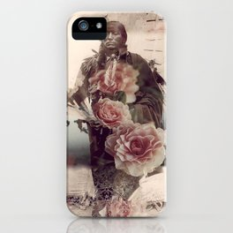Flowers Will Bloom, Ravens Will Fly iPhone Case