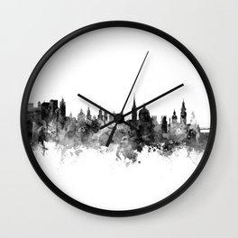 Salzburg Austria Skyline Wall Clock