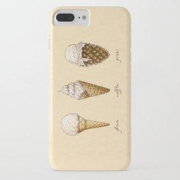 Ice Cream Cones iPhone Case