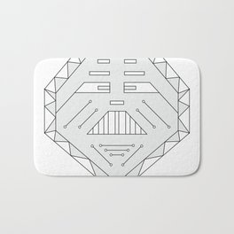 Robot technology #society6 #decor #buyart #artprint Bath Mat