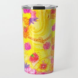 Ganesha Offering  to Overcome Obstacles Travel Mug