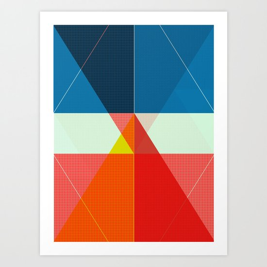 ‡ T ‡ Art Print