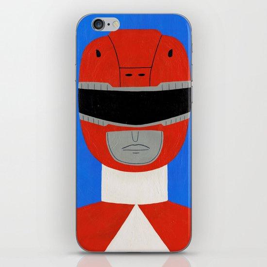 Red Ranger iPhone & iPod Skin