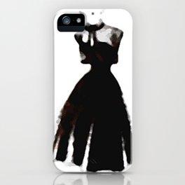 Retro Fashion Dress Series - Retro Fashion Dress Median iPhone Case
