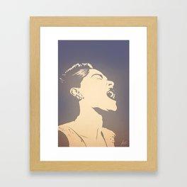 Gloomy Sunday Framed Art Print