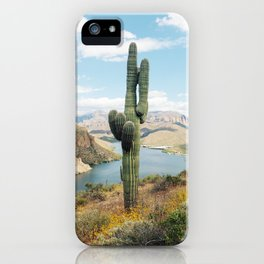 Arizona Saguaro iPhone Case
